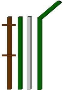 изготовление металлические столбы в Красноярске