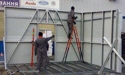 Строительство торговых павильонов в Красноярске